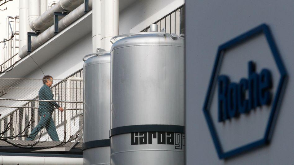 Roche-Werk in Basel: Dalcetrapib-Entwicklung eingestellt