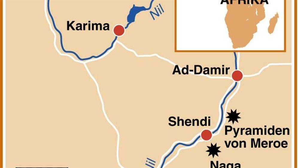 Der friedliche Sudan: Antike Tempel und Pyramiden