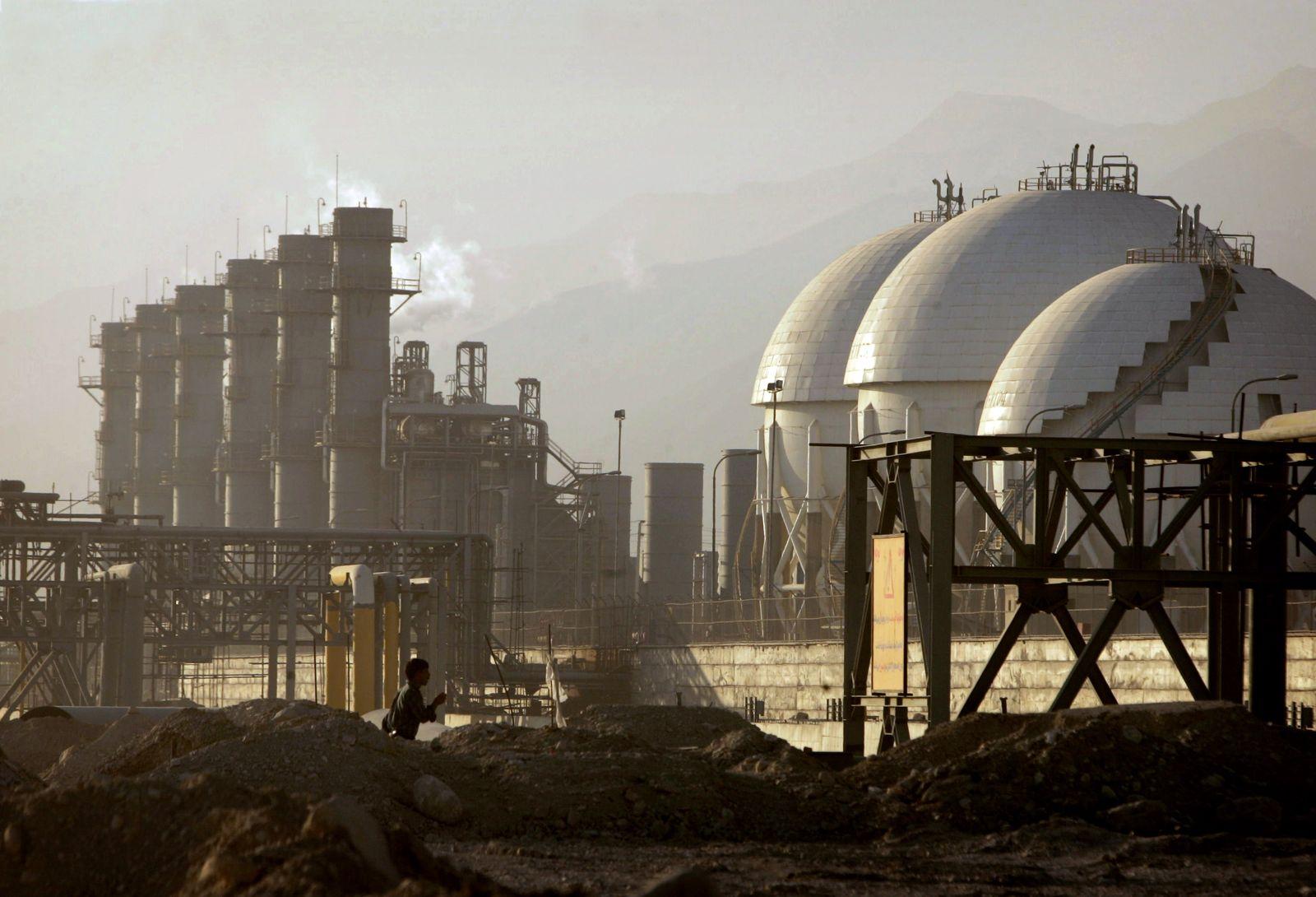 Iran/ Ölraffinerie