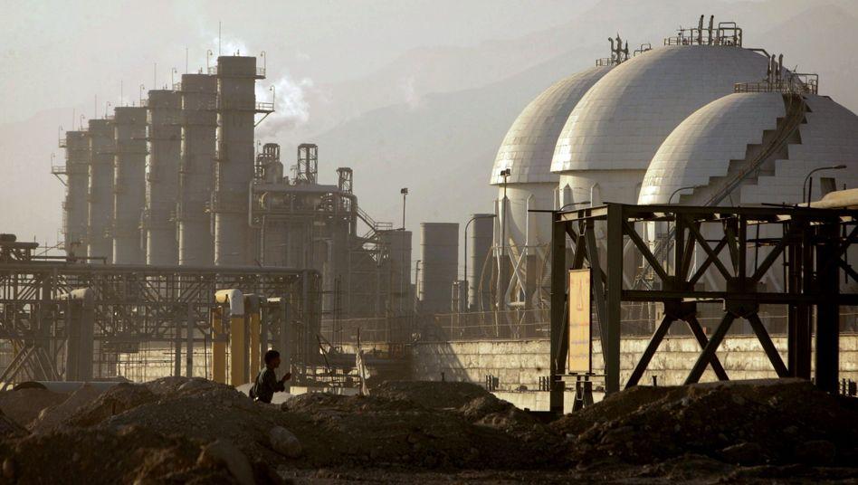 Raffinerie in Assaluyeh am Persischen Golf: Iran stellt Ölverkäufe an den Westen ein