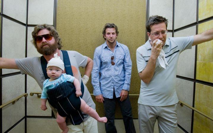 """Zach Galifianakis, Bradley Cooper und Ed Helms in """"Hangover"""": Ein wenig über den Durst getrunken"""