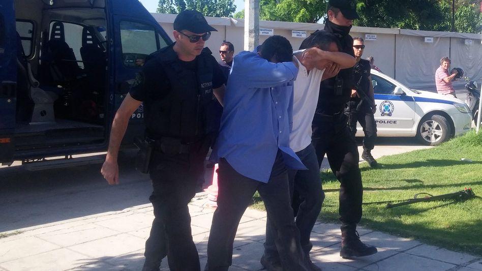 Nach dem Putsch flüchtete eine Gruppe türkischer Soldaten nach Griechenland