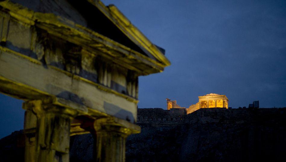Akropolis in Athen: Kein Geld für Pleite-Zocker