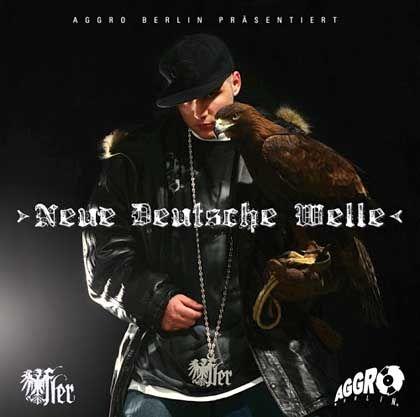 """Cover der Fler-CD """"Neue Deutsche Welle"""": Rap als neue Volksmusik"""