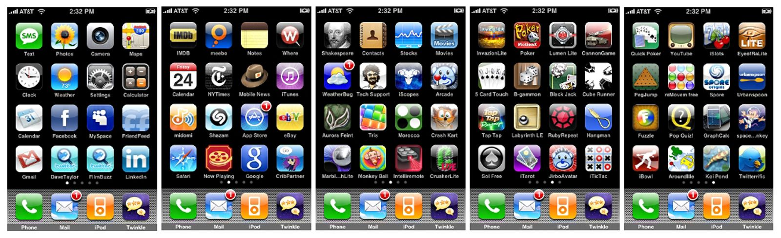 SP 45/09 Apple iPhone Apps