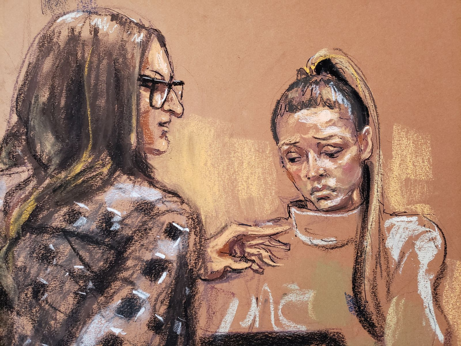 Witness Jessica Mann is questioned by Donna Rotunno during film producer Harvey Weinstein's sexual assault trial