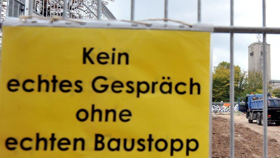 Bauarbeiten für Stuttgart 21: Einen Grünen-Politiker kritisiert Ermittlungen