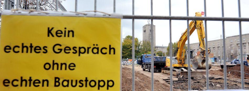 Bauarbeiten am Stuttgarter Hauptbahnhof: Schlichtung verlangt Friedenspflicht