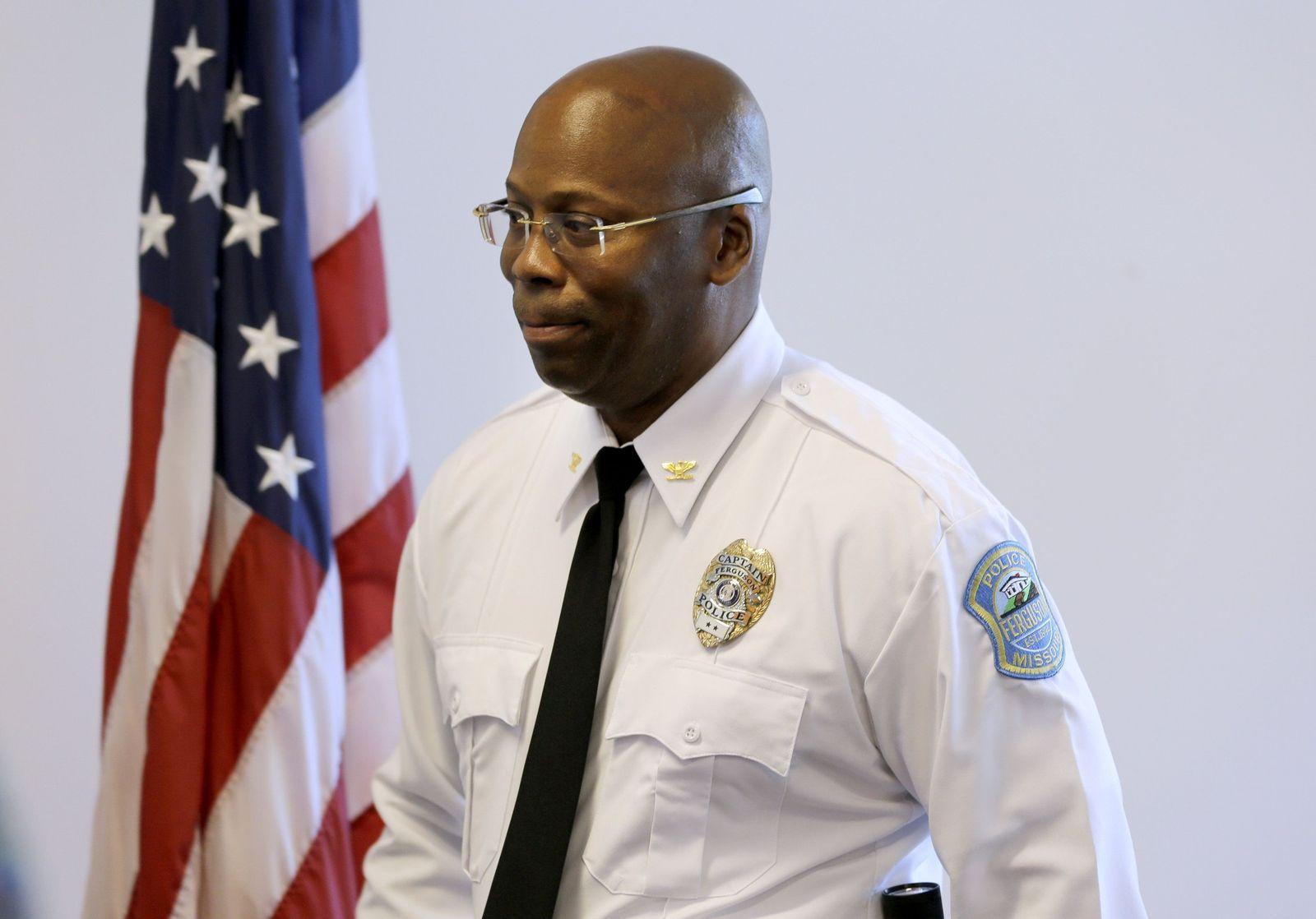 Andre Anderson, Ferguson, Polizeichef