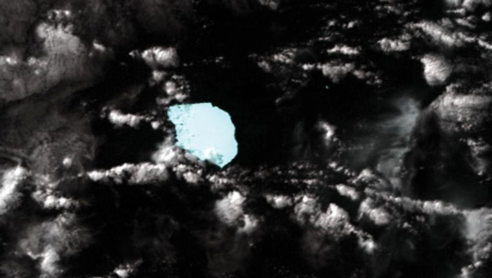 Photo Gallery: Giant Iceberg Off Australia