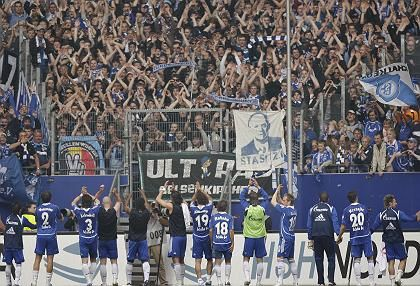 Schalke supporters are among Germany's most emotional fans.