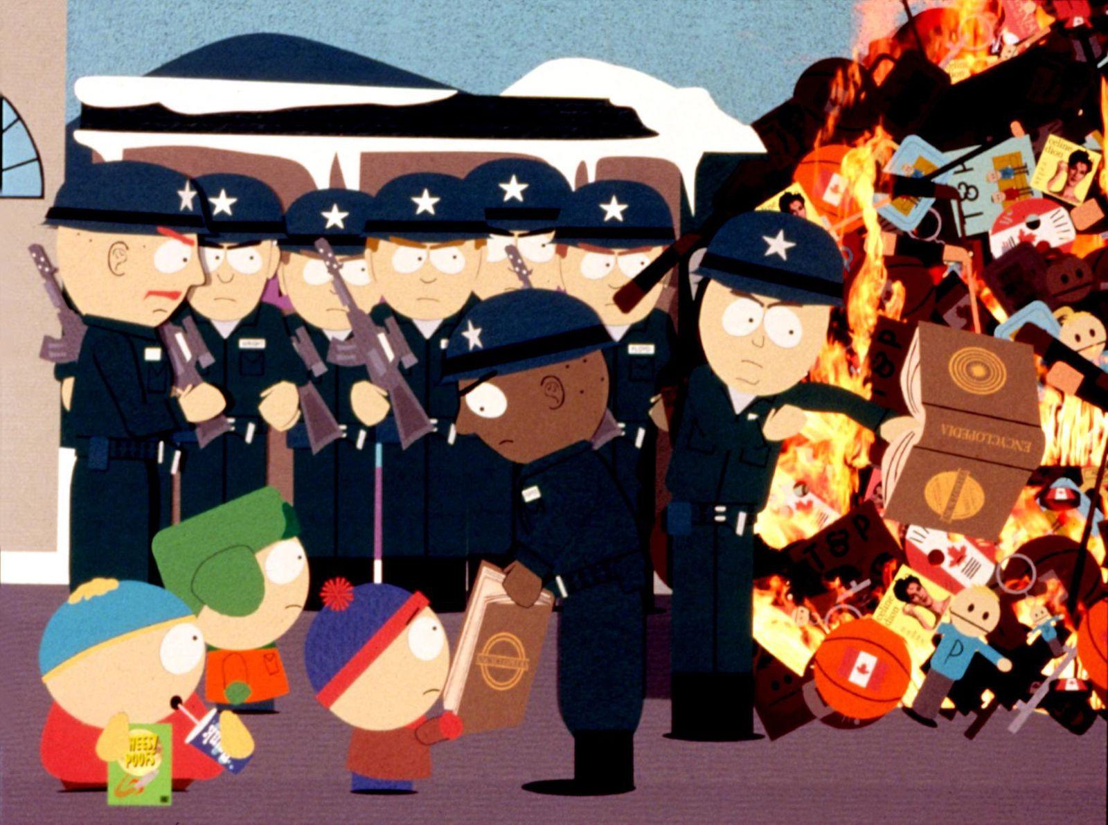 SOUTH PARK : BIGGER, LONGER & UNCUT, Cartman, Kyle, Stan, 1999