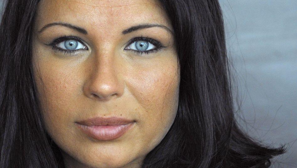 Pokerspielerin Sandra Naujoks (2009): Können diese Augen lügen? Vermutlich schon.