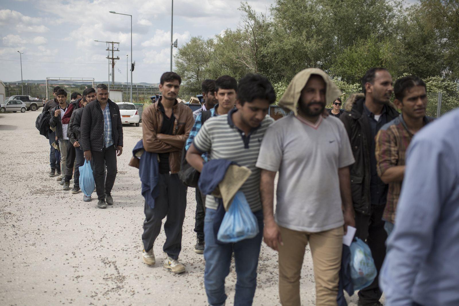 Flüchtlinge Evros