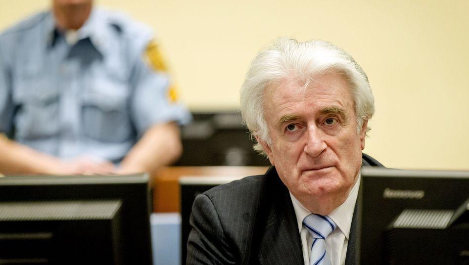Völkermordprozess: Ex-Serbenführer Karadzic zu 40 Jahren Haft verurteilt