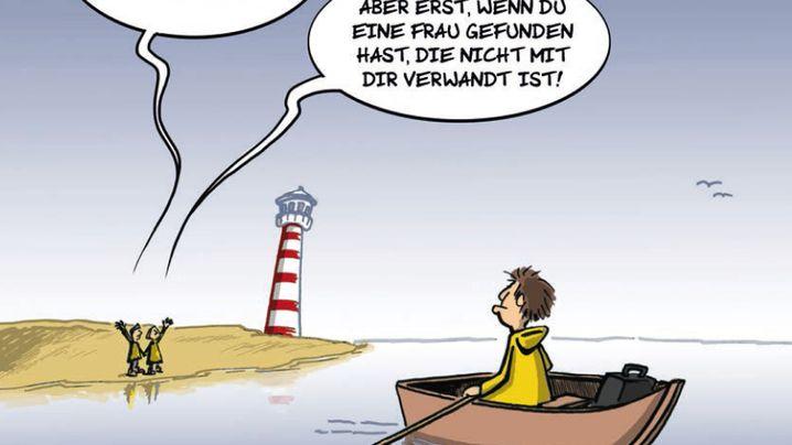 Inselwitz: Feucht und fröhlich