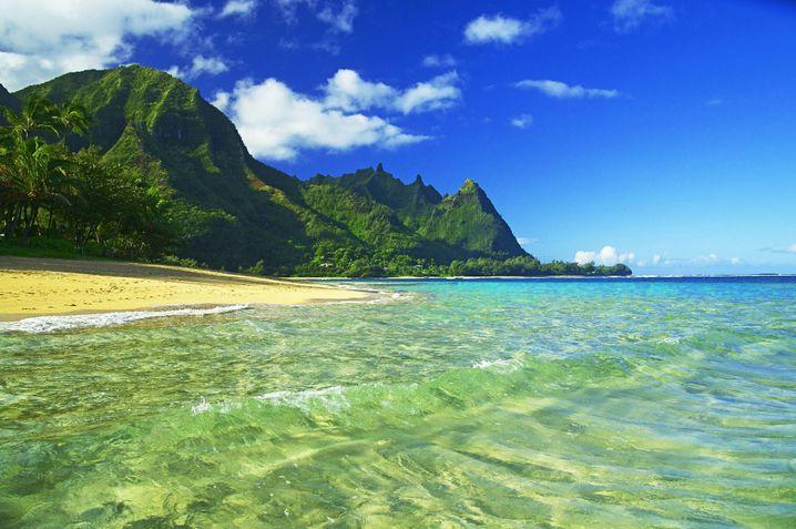 Kauai, eine der hawaiianischen Inseln