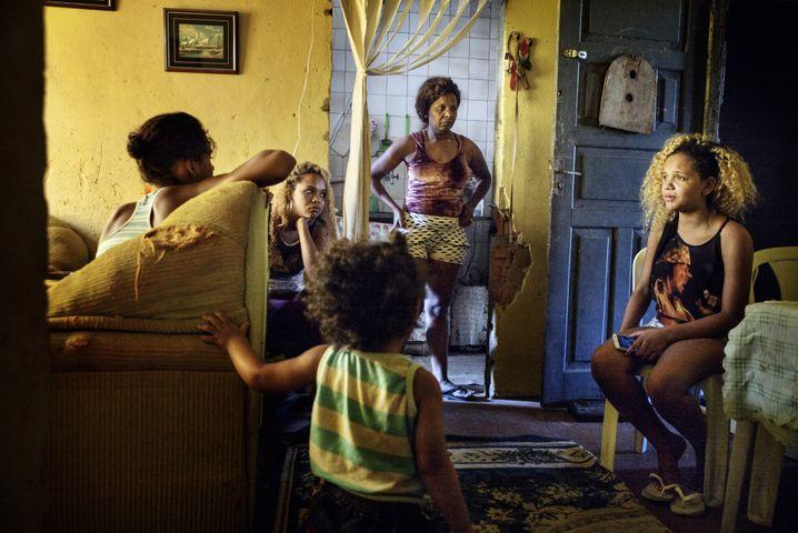 "Eine Familie im ""Cobacabana Palace"""