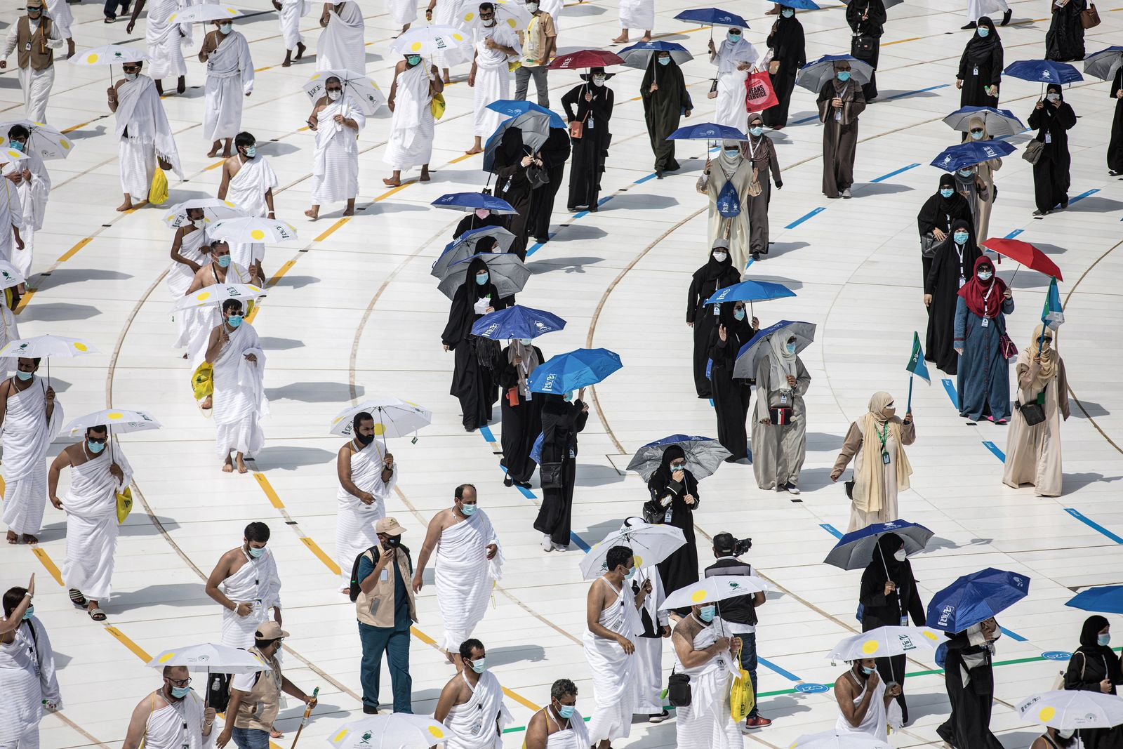 Coronavirus - Wallfahrt Hadsch in Saudi-Arabien