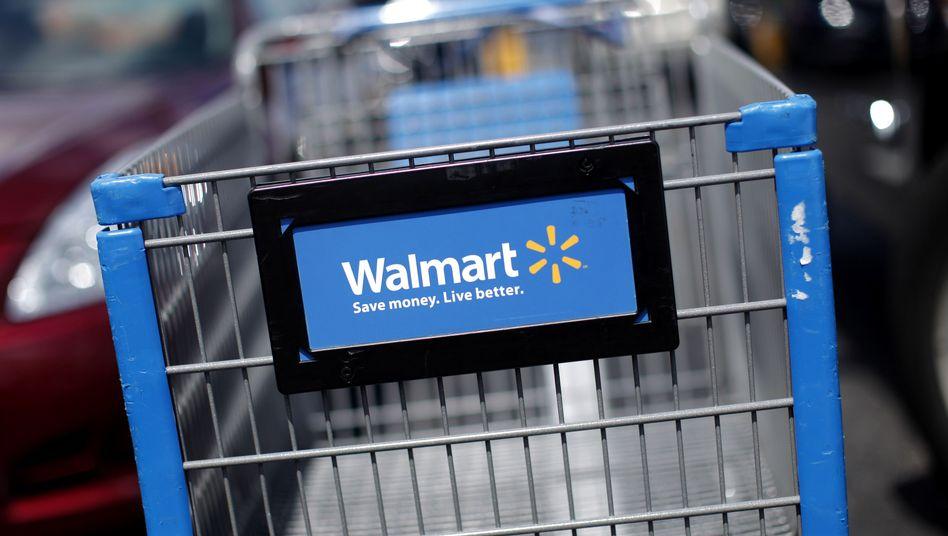 Wal-Mart-Einkaufswagen