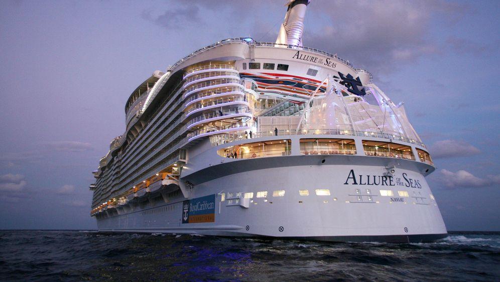 """""""Allure of the Seas"""": Das größere der größten Kreuzfahrtschiffe der Welt"""
