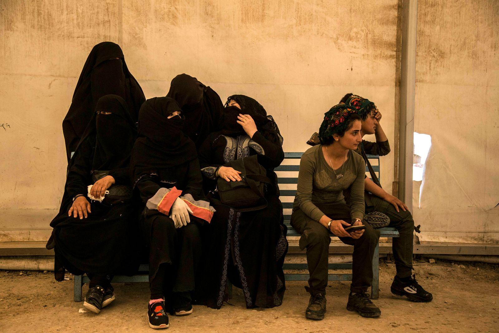 Syrien/ al-Hol/ IS-Frauen/ Islamischer Staat/ Kurdinnen