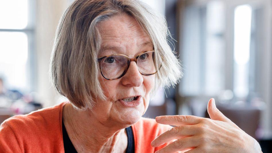 Kein Verständnis für die Absage des Preises: Die Schriftstellerin Kirsten Boie