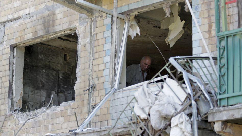 Kriegsschäden in der Ostukraine: Feuerpause ab Dienstag