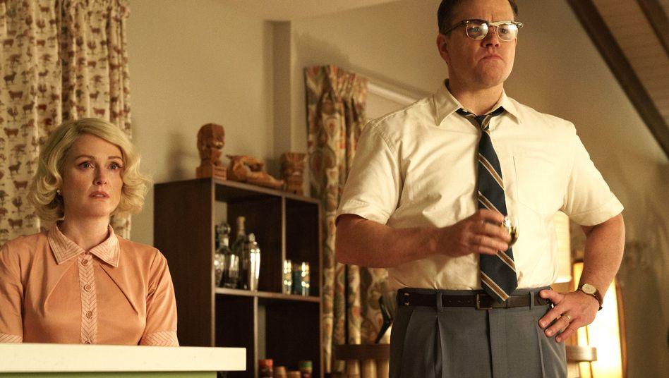 "Julianne Moore und Matt Damon in ""Suburbicon"""
