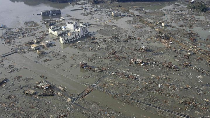 Photo Gallery: The Day After the Tsunami