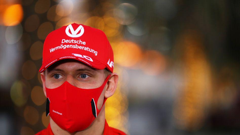 Mick Schumacher nach seinem Titelgewinn