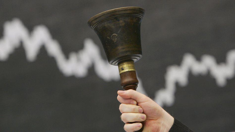 Börsenglocke (in Frankfurt): Wäre die Welt ohne Spekulanten besser?