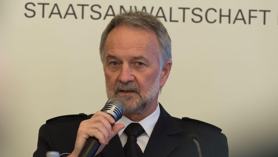 Freiburgs Polizeipräsident Bernhard Rotzinger