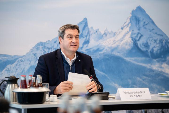 Ohne ihn geht nichts in der K-Frage: CSU-Chef Söder