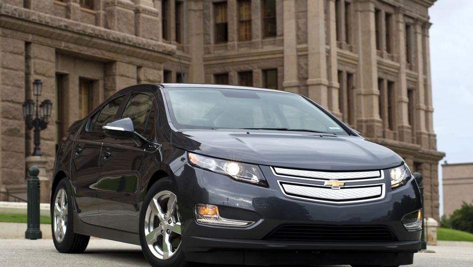Chevrolet Volt: Das Auto soll 40.000 Dollar kosten