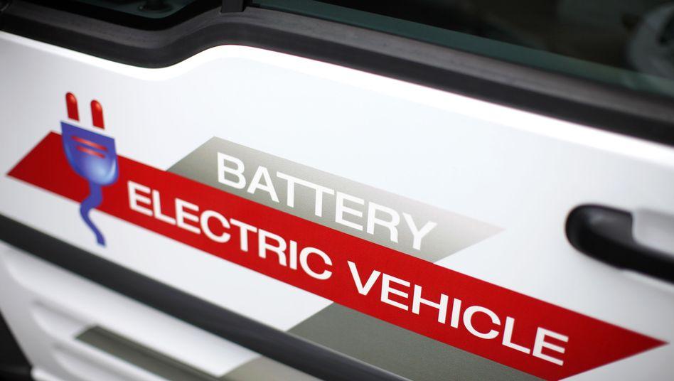 Batteriebetrieben: In den meisten Elektroautos sind Lithium-Ionen-Akkus eingebaut