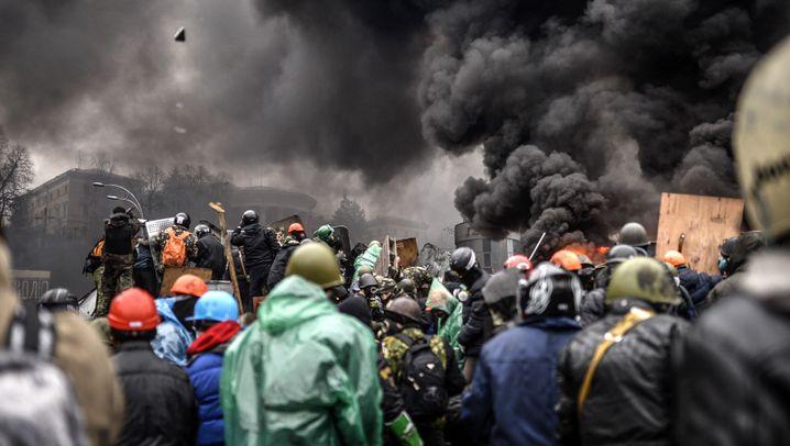 Gewalt in Kiew: Neuer Rauch über dem Maidan
