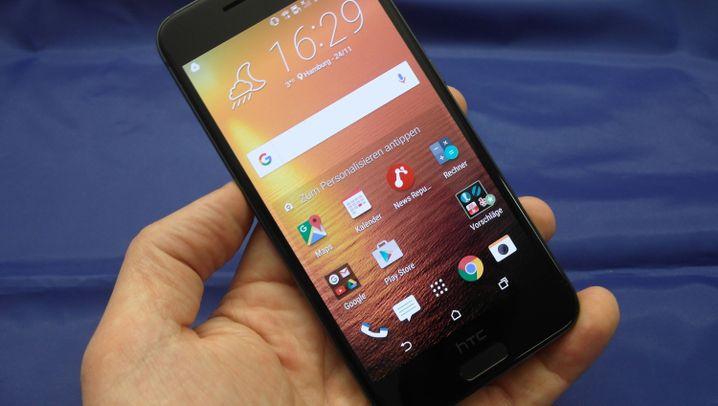 Im iPhone-Look: HTC One A9