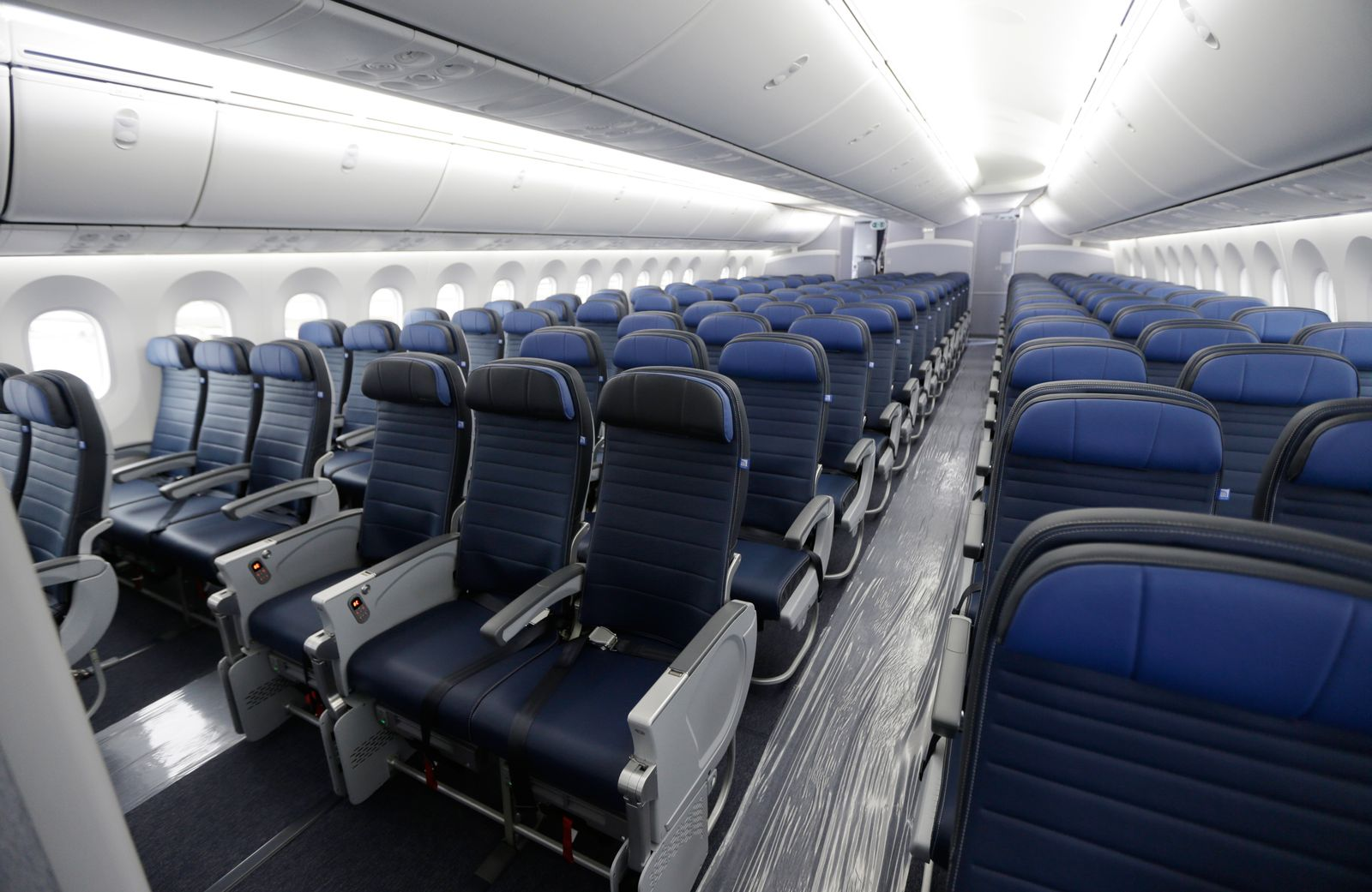 Sitzklassen Flugzeuge/ United Airlines/ Economy Class
