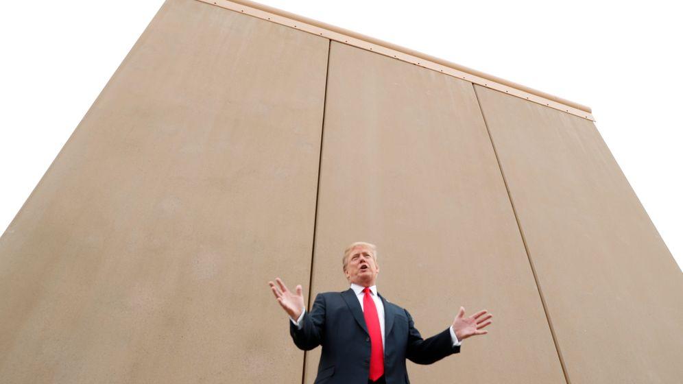 """Prototypen der Grenzmauer zu Mexiko: """"Fantastisch"""", sagt Trump"""