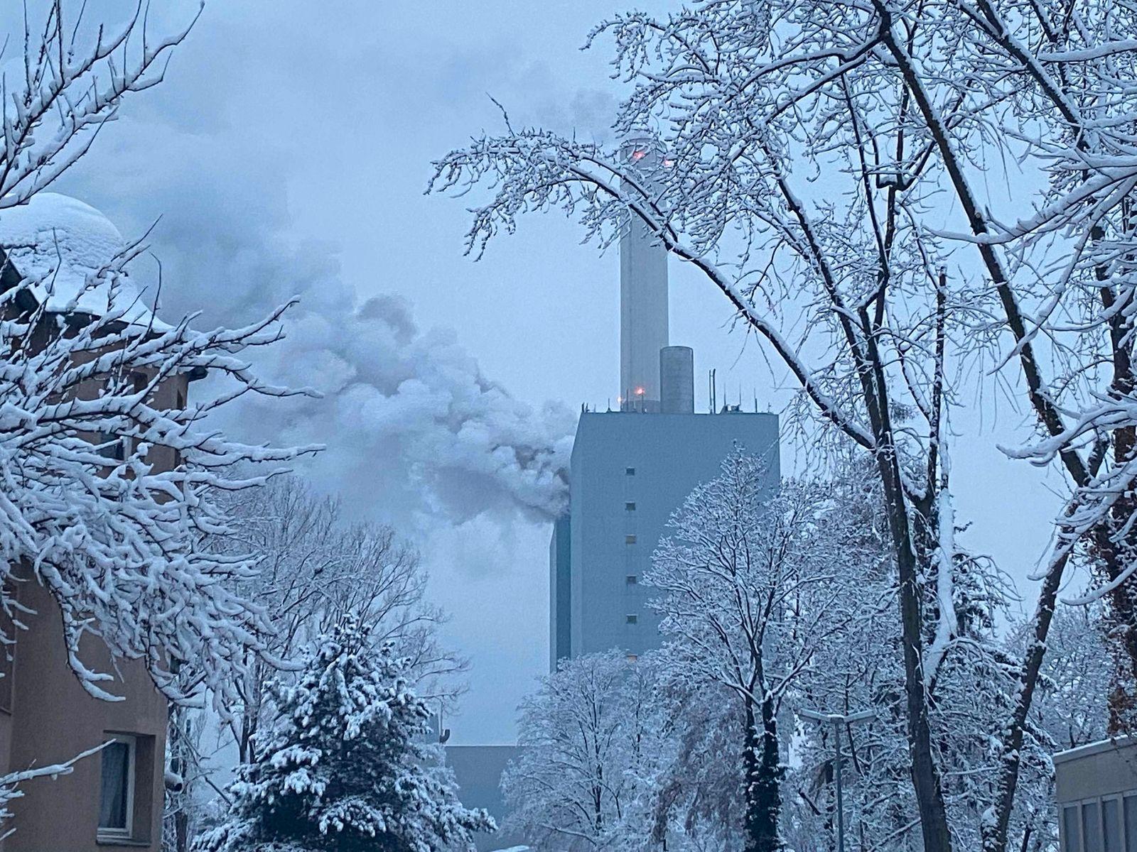 Brand in Nürnberger Kraftwerk
