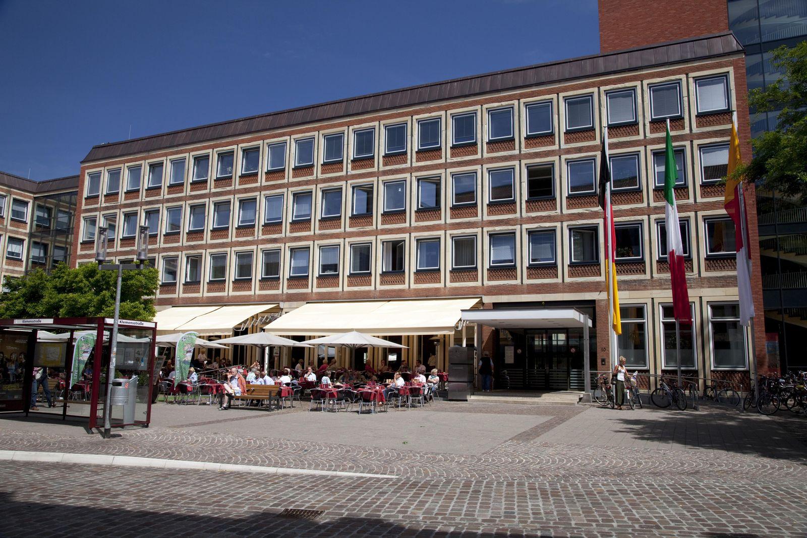 Stadthaus, Stadt Münster, Münsterland, Nordrhein-Westfalen, Deutschland, Europa