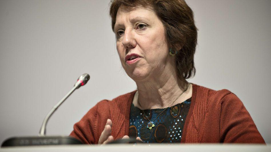 """EU-Außenbeauftragte Ashton: """"Wir denken auch an die Kinder in Gaza"""""""