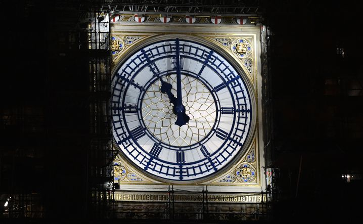 Der entscheidenden Moment: 23 Uhr mitteleuropäischer Zeit, der endgültige Bruch mit der Europäischen Union