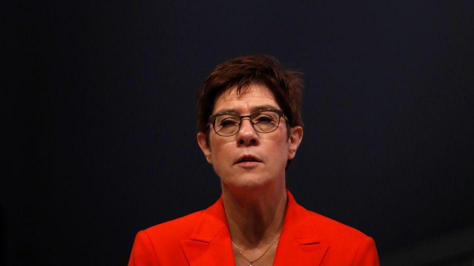 Annegret Kramp-Karrenbauer will den CDU-Parteivorsitz abgeben