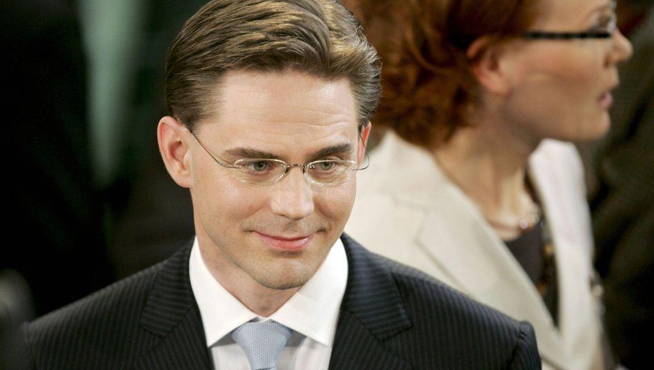 Jyrki Katainen, Chef der Nationalen Sammlungspartei Finnlands: Sind Konservative schöner?