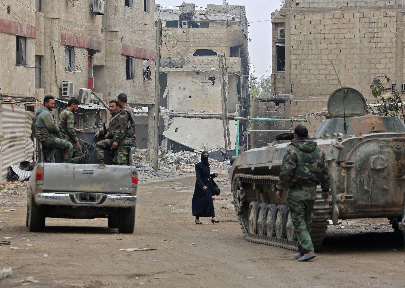 Syrien/ Duma