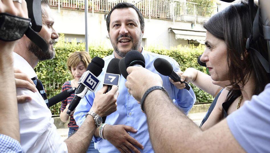 Lega-Parteichef Salvini