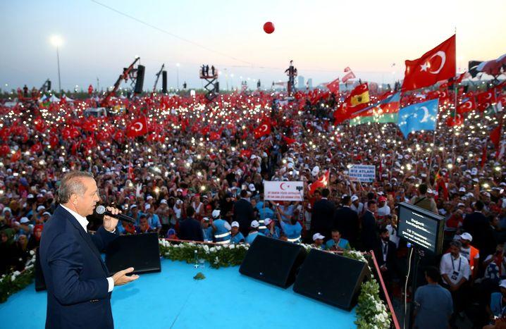 Erdogan am 7. August