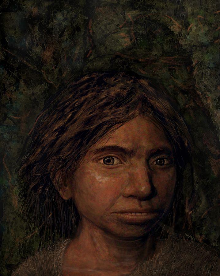 """Rekonstruktion: """"In vielen Punkten ähneln Denisova-Urmenschen den Neandertalern"""""""